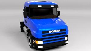 scania ct19 3D
