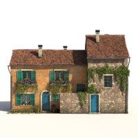 Old European House