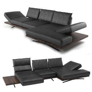 koinor phoenix modular sofa 3D