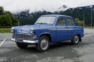 3D mzma moskvitch-403ie 1963 40 model