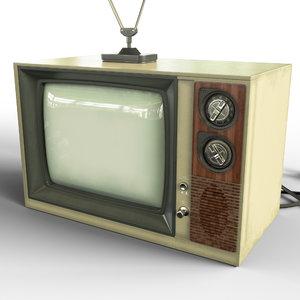 3D tv old crt