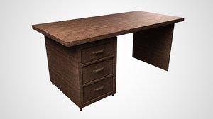 3D simple desk