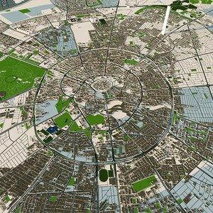 3D erbil city iraq