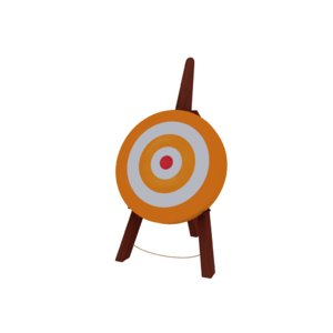 3D target model