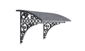 visor classic metal 3D model