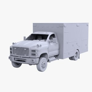 ambulance ut 3D model