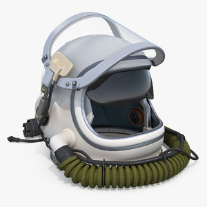 3D gsh6 altitude flying helmet model