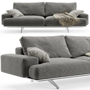 3D model desiree platz sofa