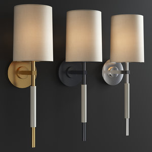 3D clout tail sconce
