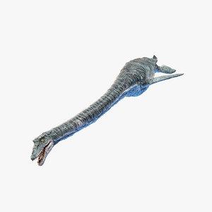 3D elasmosaurus