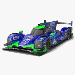 3D cetilar racing wec lmp2 model