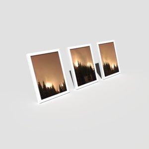 pbr picture frames standing 3D model