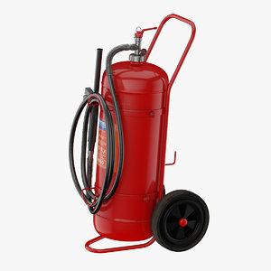 extinguisher spray foam 3D model
