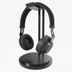 bluetooth wireless headphones black model