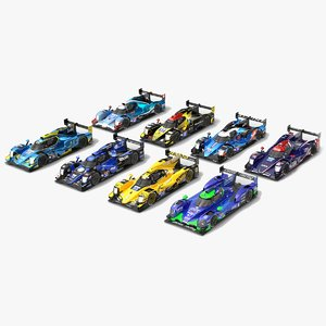 3D model wec lmp2 season 2019
