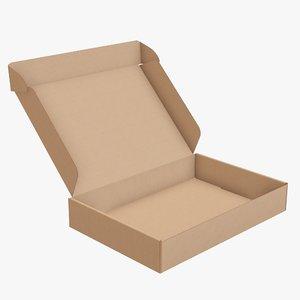 packaging corrugated cardboard 3D model