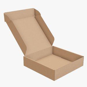 3D packaging corrugated cardboard