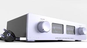 amplifier uv meter 3D model