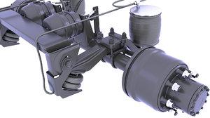 3D suspension brake drum