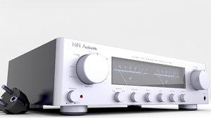 amplifier uv meter model