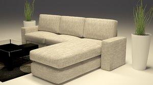 sofa couch interior model