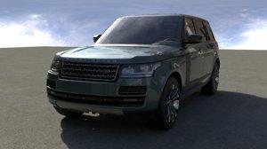 3D car vrscene model