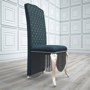 3D luxury chair 01