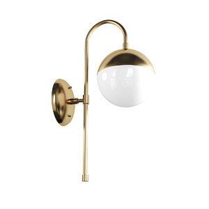 3D chandelier lamp light model