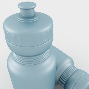 3D water bottle