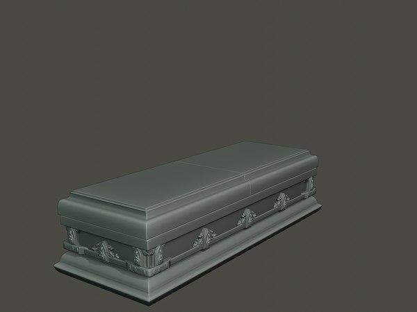 3D dancing coffin model