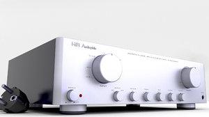 3D hifi amplifier amp