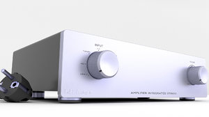 3D hifi amplifier amp model