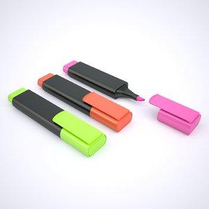 highlighter pen marker model
