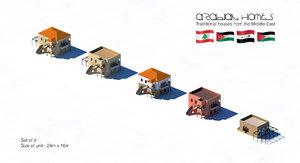 set homes 3D model