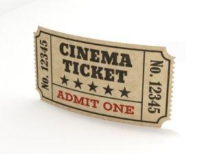 ticket paper model