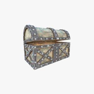 ready treasure chest 3D model