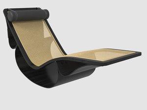 3D chaise longue rio o