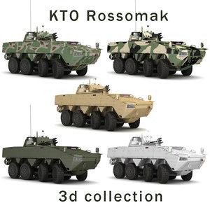 3D kto patria rossomak model