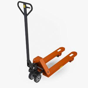 hand pallet truck 3D