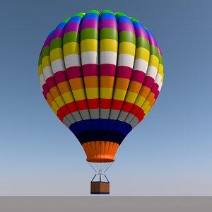 air balloon hot model