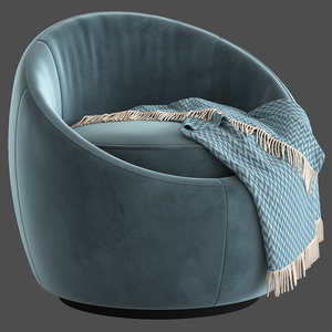 globewest kennedy globe chair 3D model