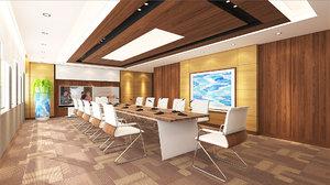 3D model conference room 01