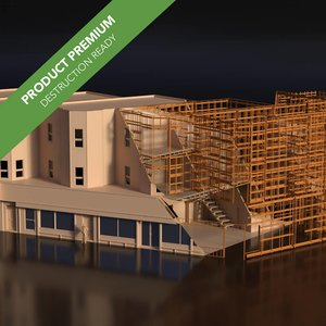 3D destruction model