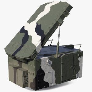 camouflage s300 flap lid 3D model