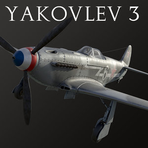 yakovlev aircraft 3D model