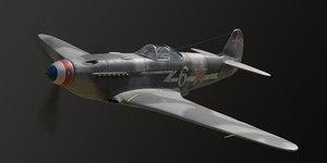 yakovlev aircraft 3D model