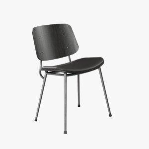 modernism seat soborg chair model
