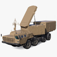 Desert Flap Lid B S300 Missile Guidance Radar Rigged