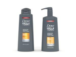 3D dove men care shampoo