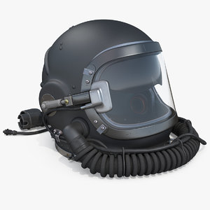 russian altitude flight helmet military 3D